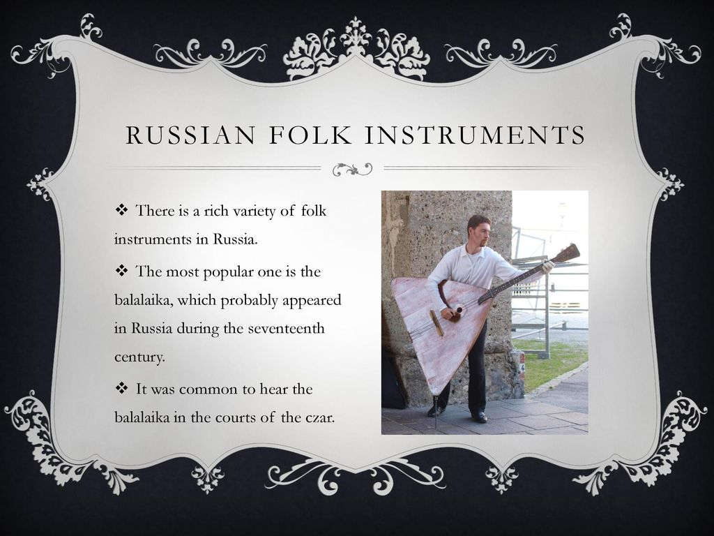 Music of Russia  - ppt download