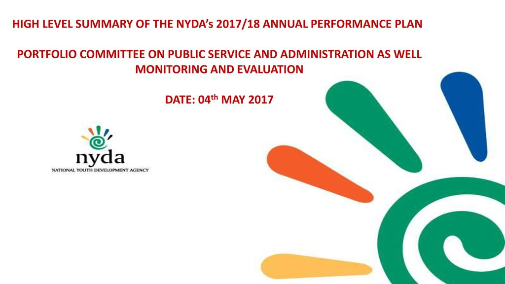 High level summary of the nydas 201718 annual performance plan high level summary of the nydas 201718 annual performance plan wajeb Gallery