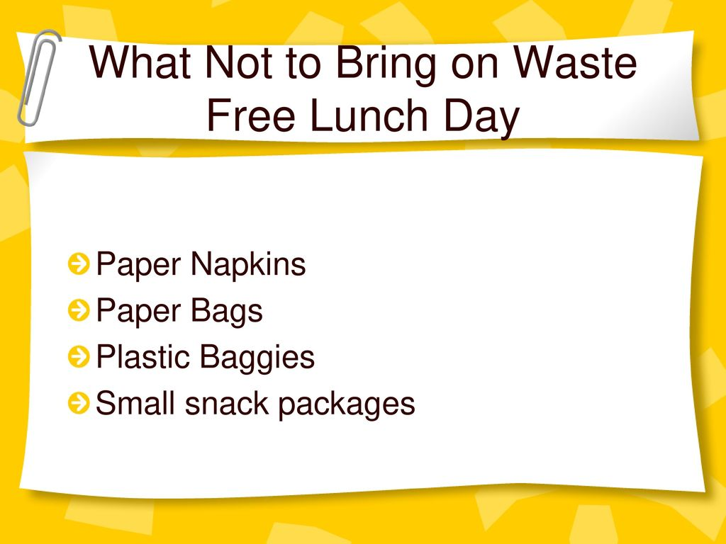 waste free lunch day how you can help the earth by bringing a waste