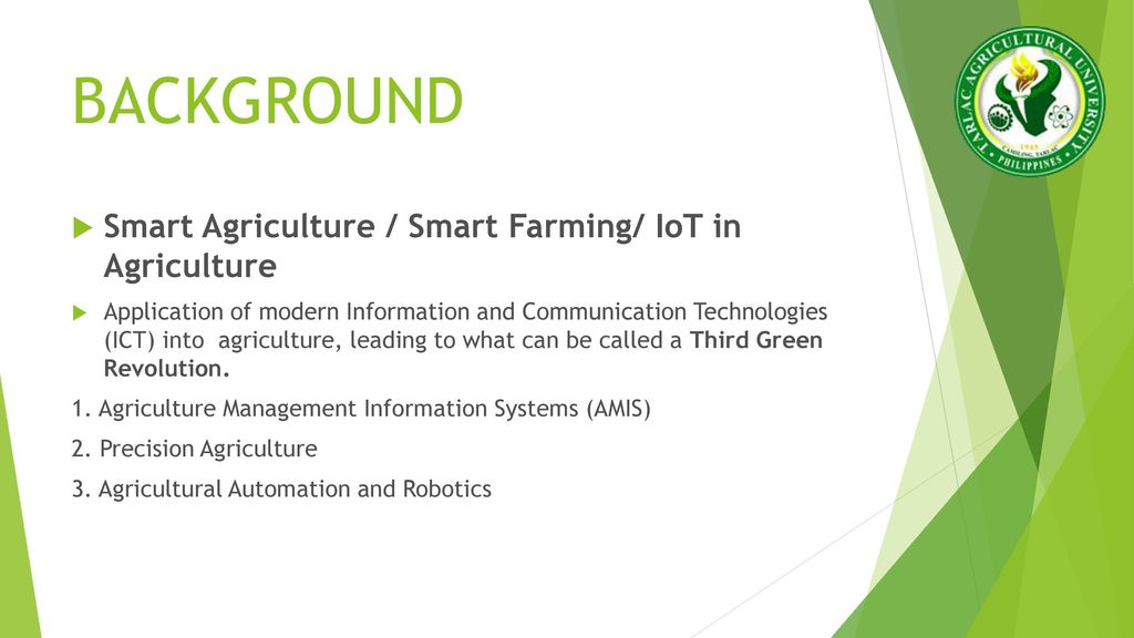 Iot In Agriculture Ppt