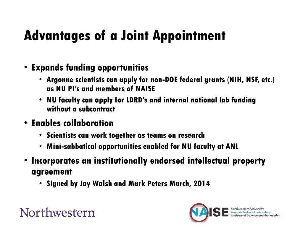 Joint Appointment Process - ppt download