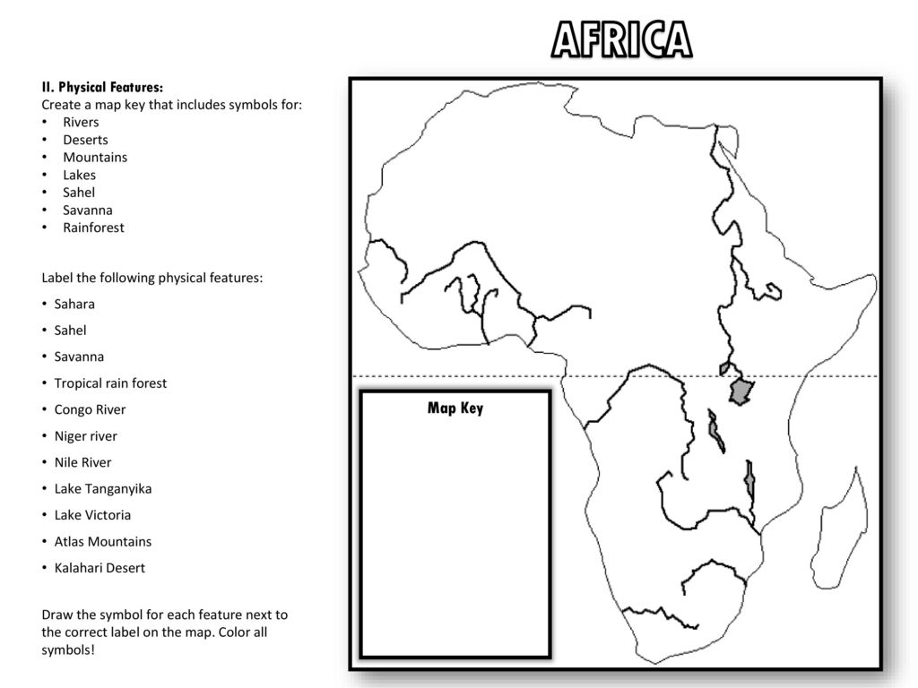 Key Physical Features Of Africa Map.Physical Features Africa Map Jackenjuul