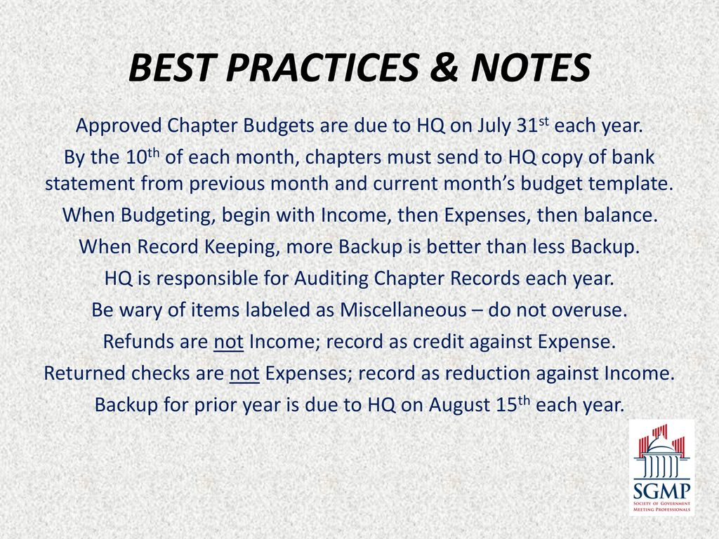 Sgmp Treasury Ppt Download