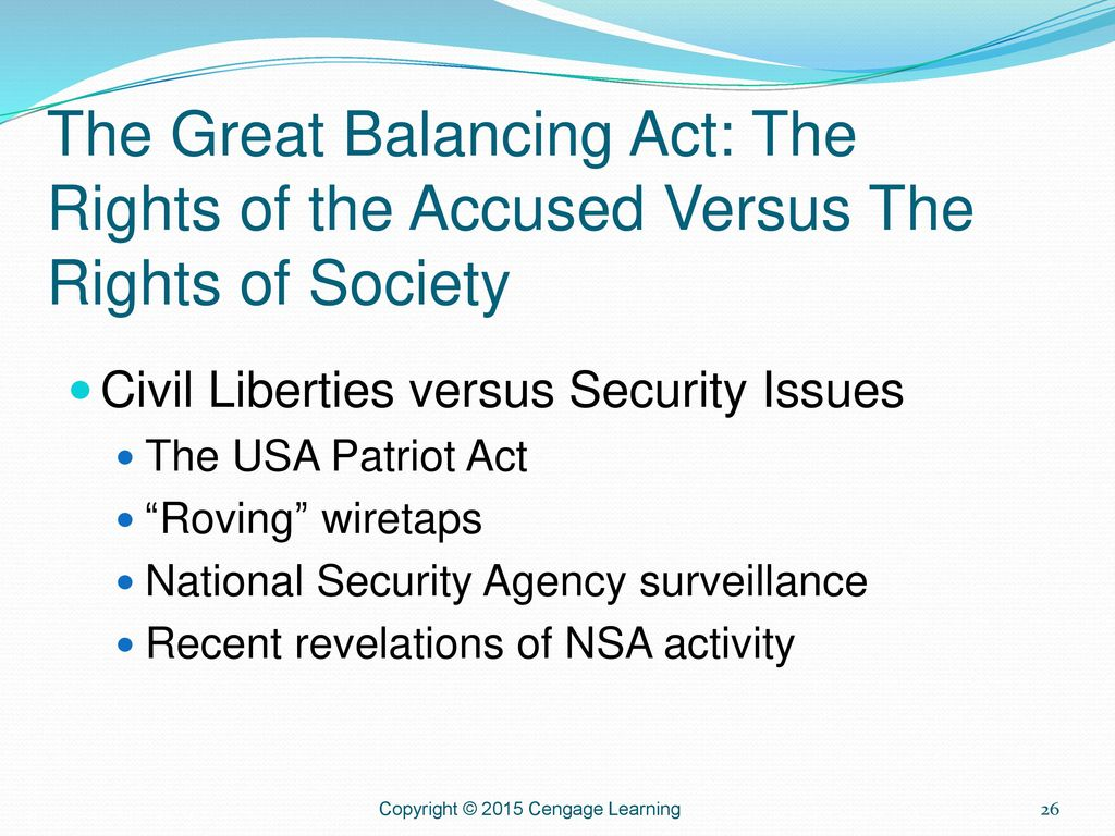 national security versus civil liberties