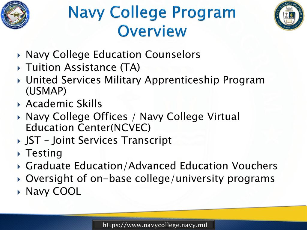 Navy Voluntary Education (VOLED) NCPACE Command Coordinator (ESO ...
