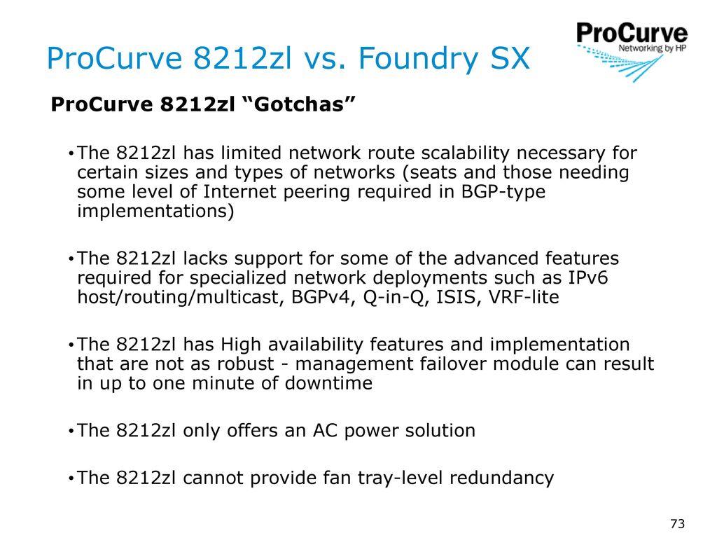 ProCurve Switch 8212zl NPI Sales Training - ppt download