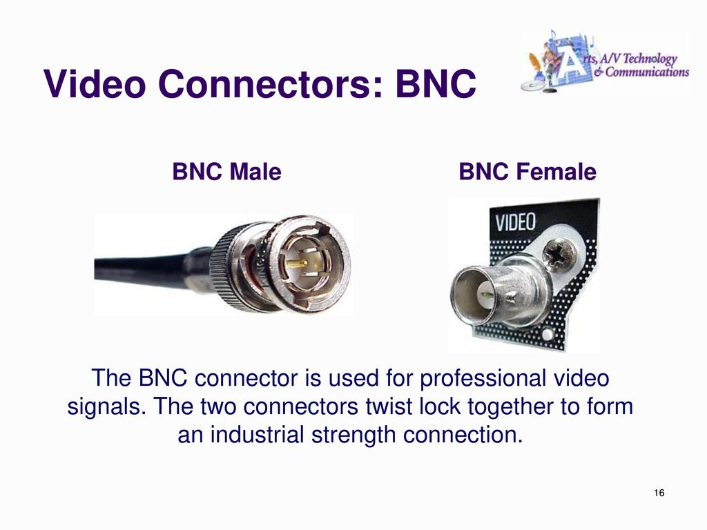 Audio Video Production Ppt Download Lock Wiring Diagram Along With Security Camera Bnc Cable Connectors Male Female