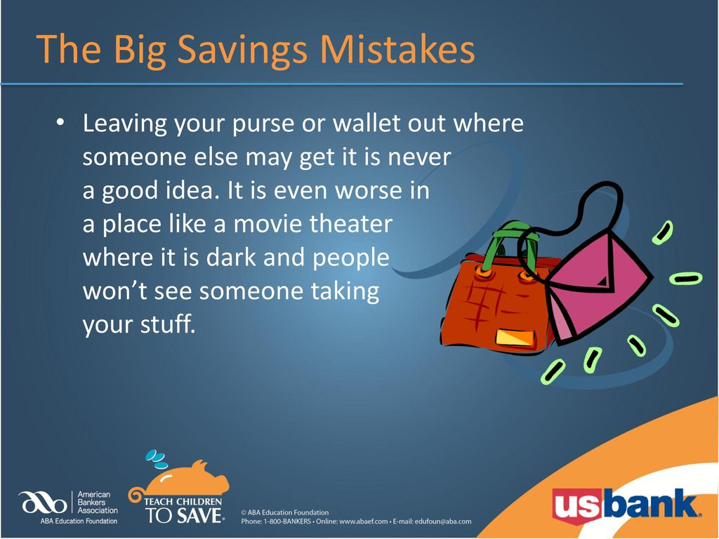 81a0baea5dd234 3-5 Lesson c: secret agent savings The big savings mistakes - ppt ...