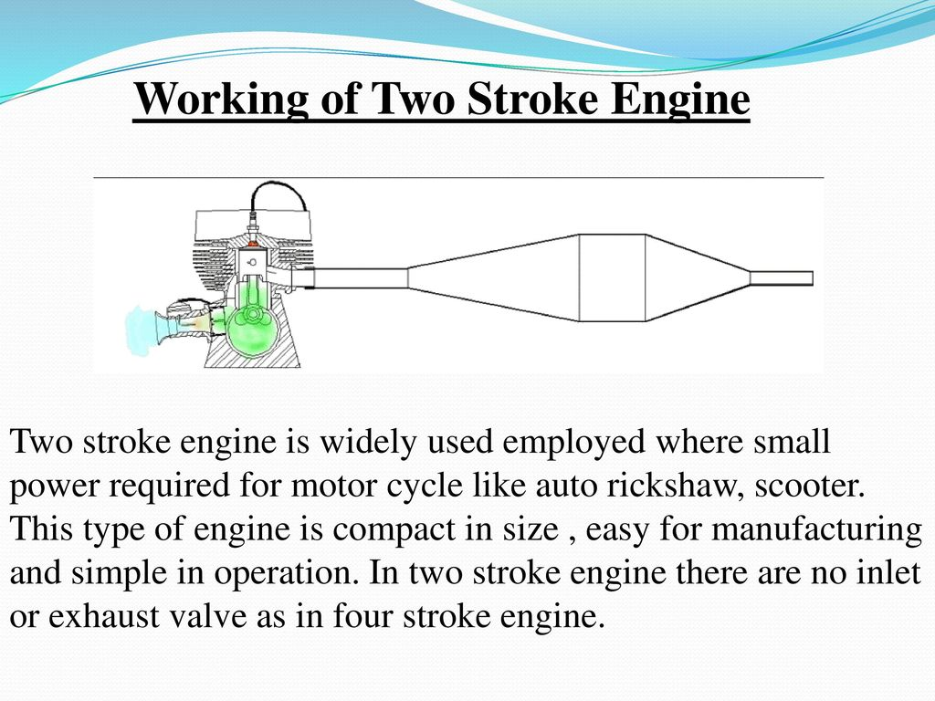 Working of Two Stroke Engine