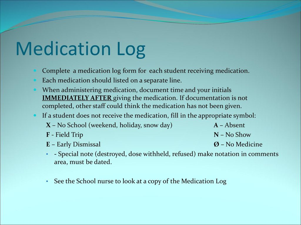 medication administration training for school personnel ppt download