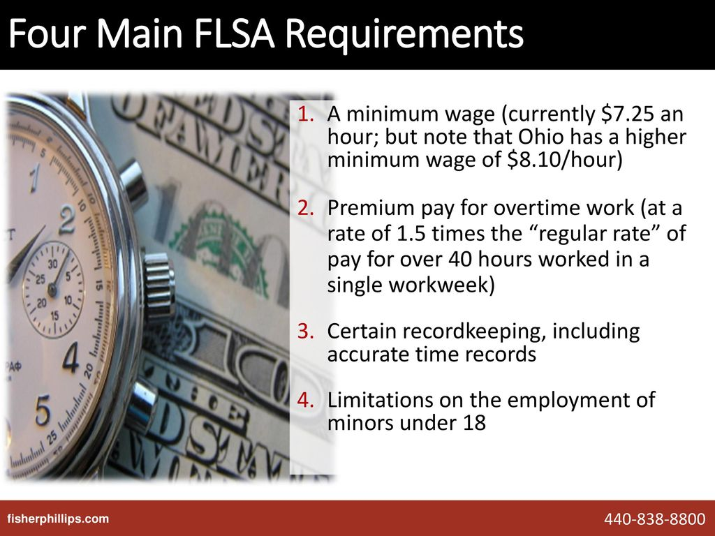 The Fair Labor Standards Act: Exemption Changes and