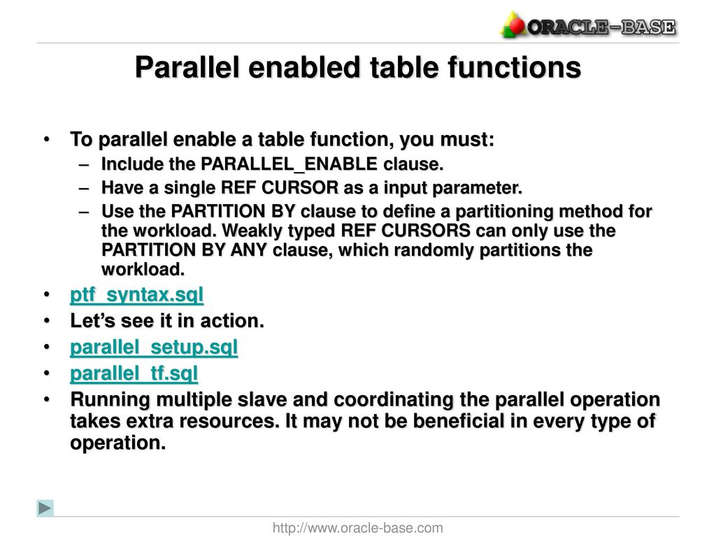 Tim Hall Oracle ACE Director - ppt download