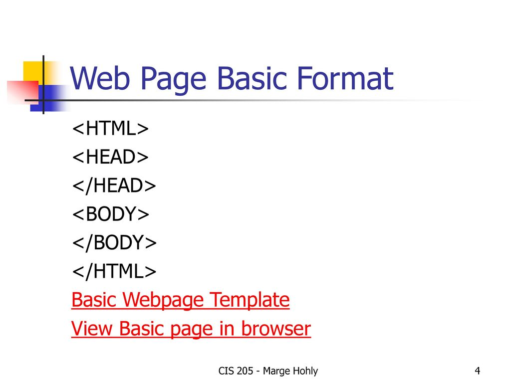 Tutorial 1 Creating Web Pages With Html Ppt Download