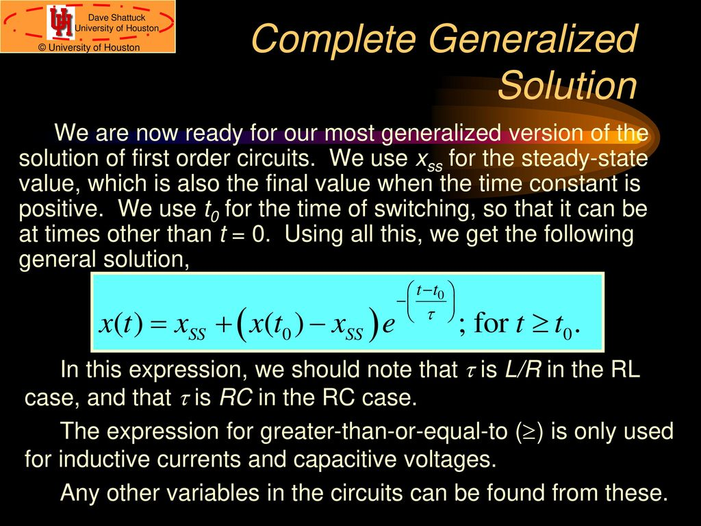 Ece 2202 Circuit Analysis Ii Ppt Download This Just A Redrawn Version Of The Original 48 Complete Generalized Solution