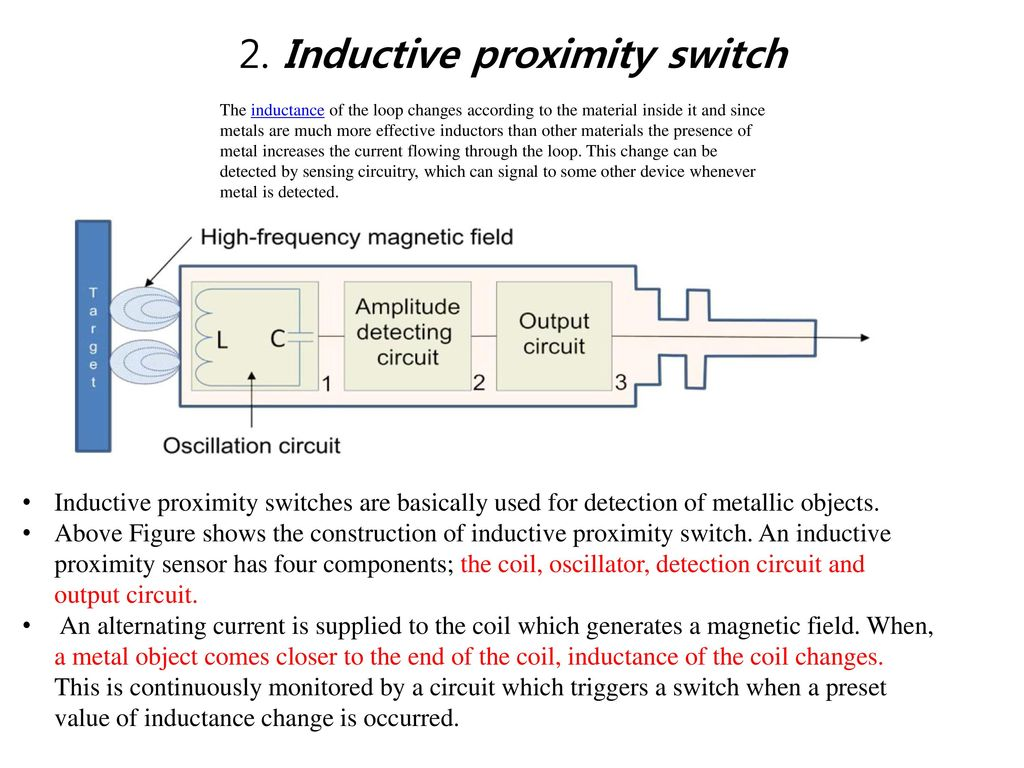 Sensors Ppt Download Ac Inductive Proximity Switch Wiring Diagram