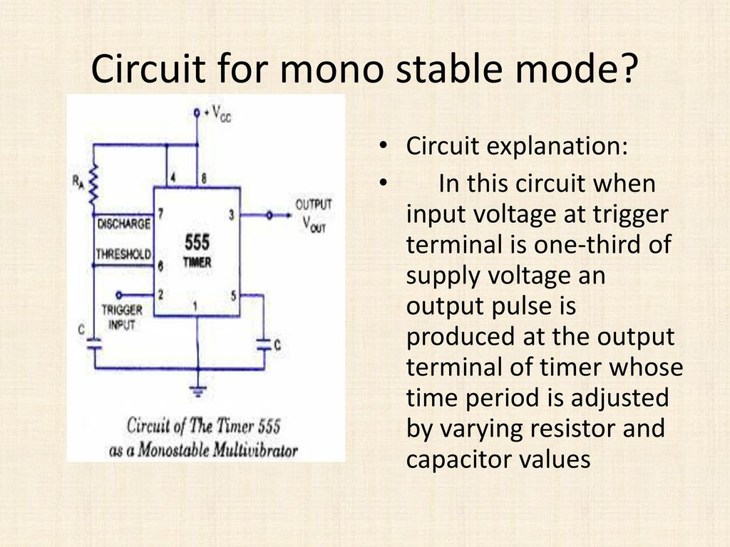 Sensors Ksaideep Ppt Download Monostable Means That Once The Circuit Is Switched On It Will Time 6 For Mono Stable
