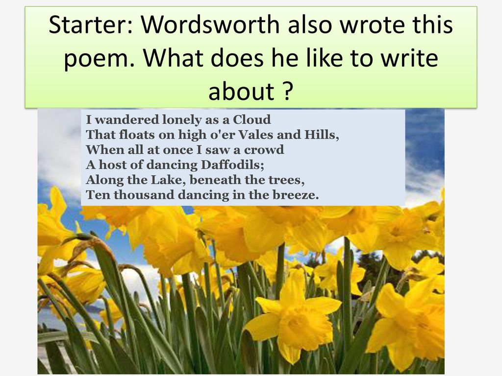 The Prelude By William Wordsworth Ppt Download