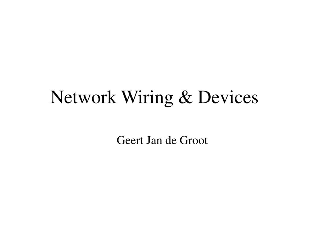 Network Wiring Devices Ppt Download Structured Image Search Results