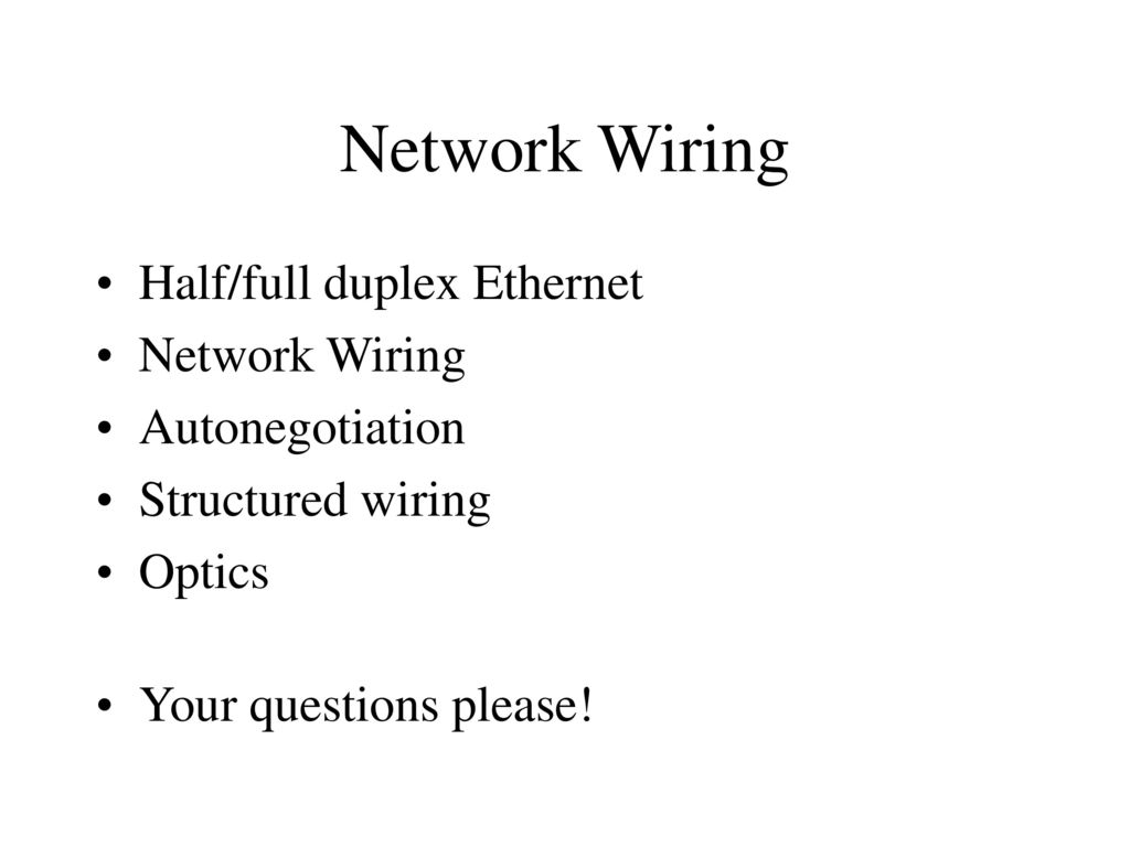 Network Wiring Devices Ppt Download Structured Image Search Results 2