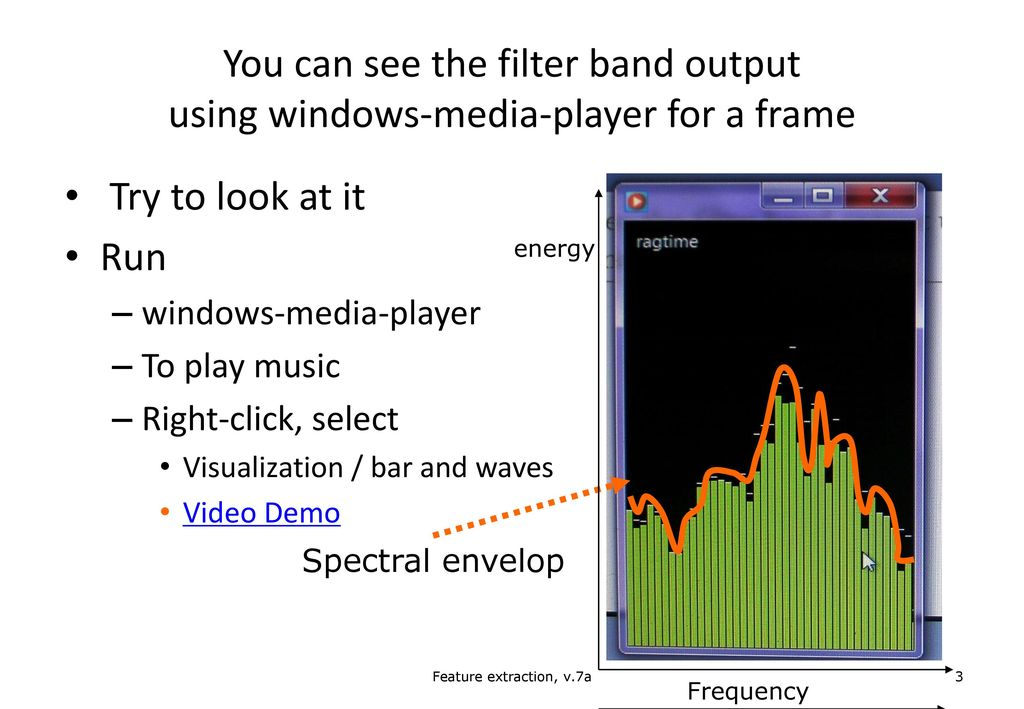 Ch. 3: Feature extraction from audio signals - ppt download