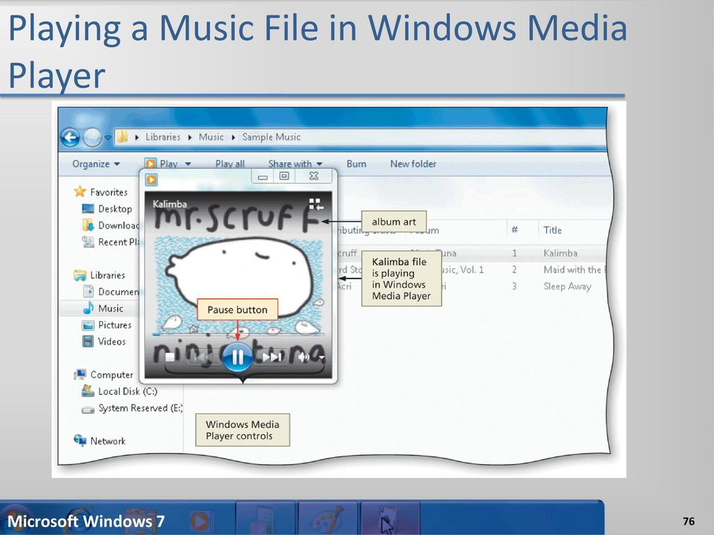 Microsoft windows sample music