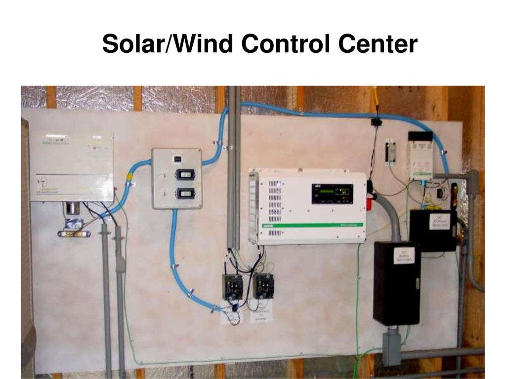 An Affordable Energy Efficient Home Utilizing Solar And Wind Power Diagram Control 27 Center