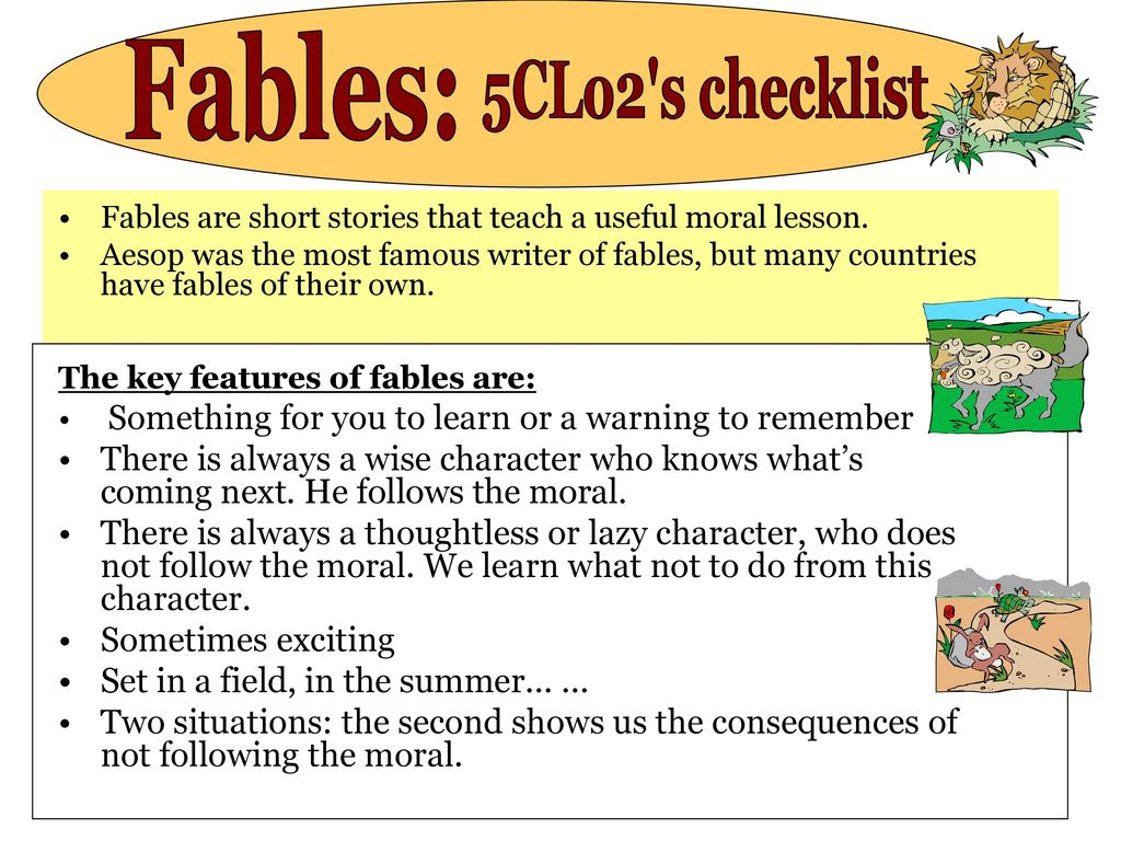 A List Of Fables And Their Morals myths, legends and fables - ppt download