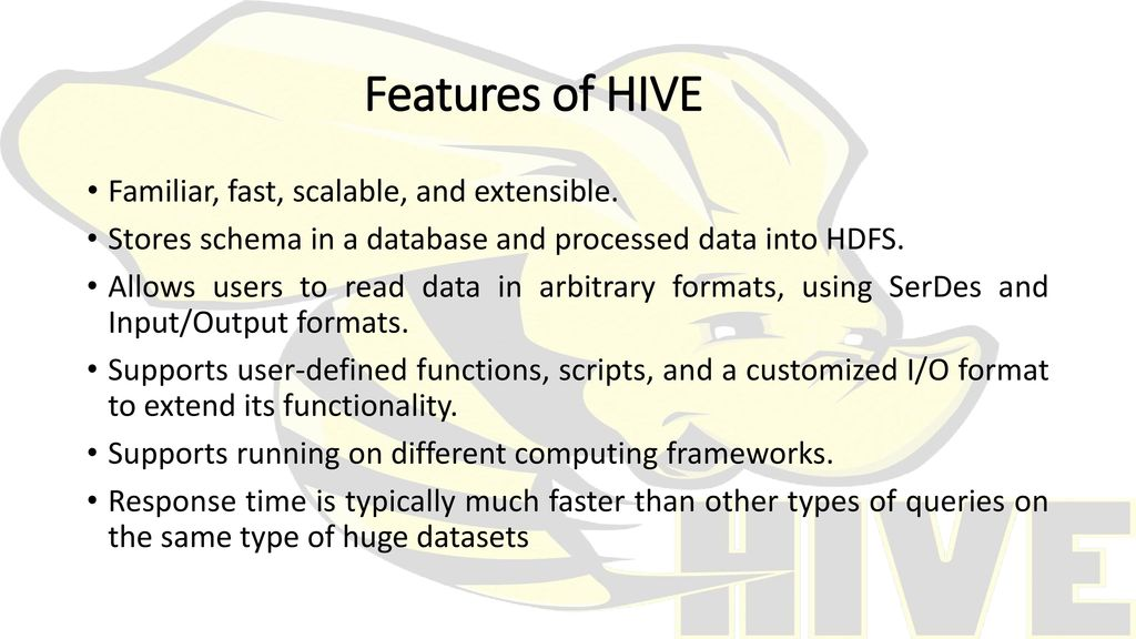HIVE A Warehousing Solution Over a MapReduce Framework - ppt