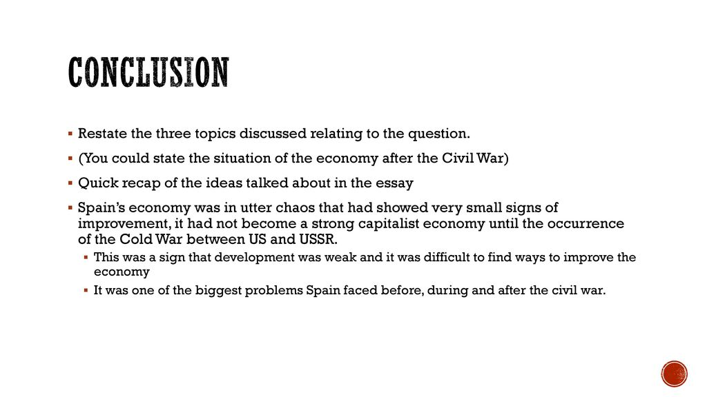 Order Custom Writing S The Economic Effects Of Spanish Civil War Ppt General Essay Topics In English also Synthesis Example Essay Spanish Civil War Essay Questions  Mistyhamel Essay Paper Writing Services