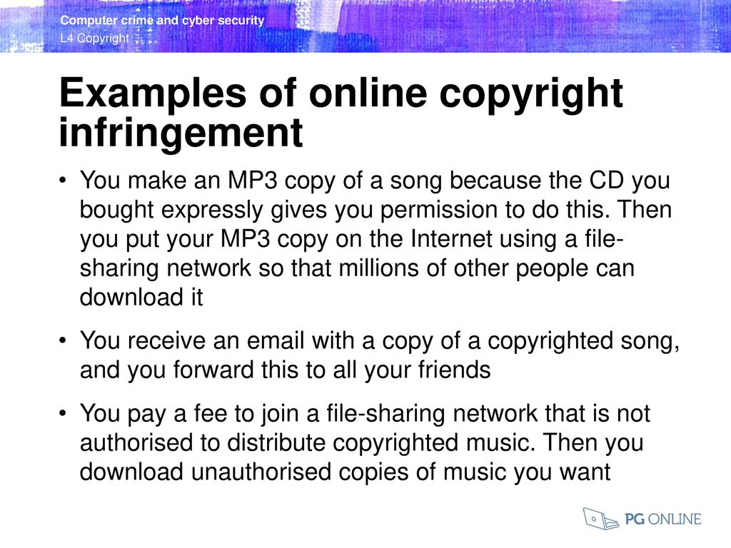 Copyright Computer crime and cyber security  - ppt download