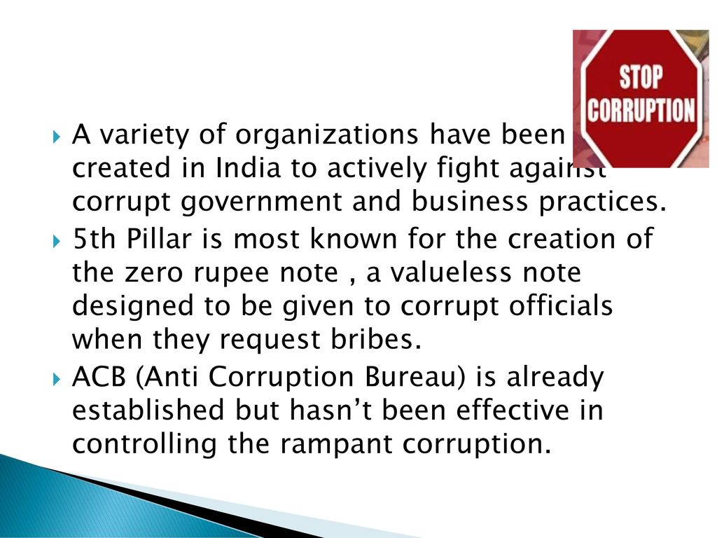roots of corruption in india