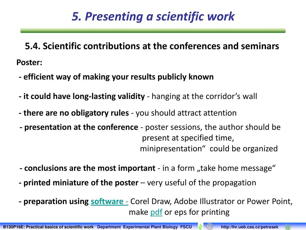 Scientific work by the rules: requirements for the abstract 3
