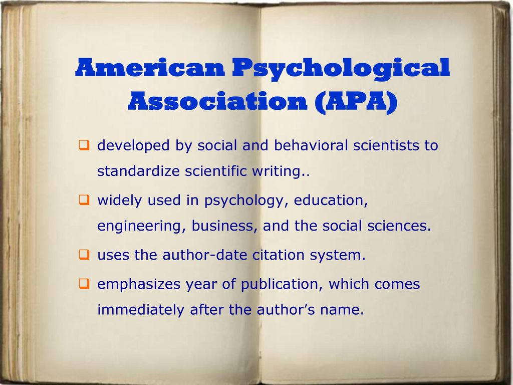 american psychological association dissertation Note for uw-stout thesis/dissertation writers all information in this guide is based upon the publication manual of the american psychological association , 6th edition, also commonly known as the apa manual.