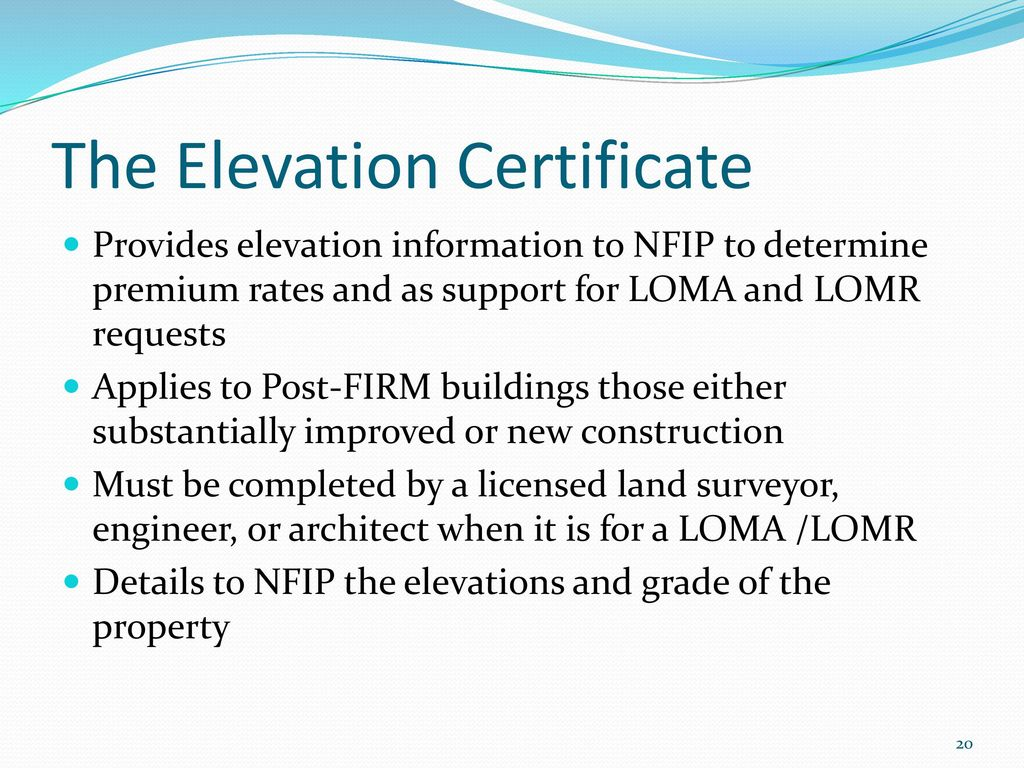 Land Surveyors Fema And Other Flood Zone Issues Ppt Download