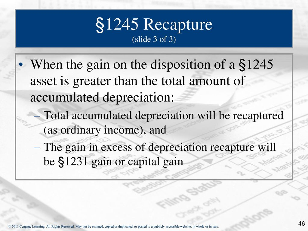 14 is there any depreciation recapture I bought a rental property in 2001 for about $68k over the years i have claimed about $2800 per year in depreciation on my income taxes is seems that i will owe the irs about $10k for depreciation recapture does this sound right is there any way to avoid this.