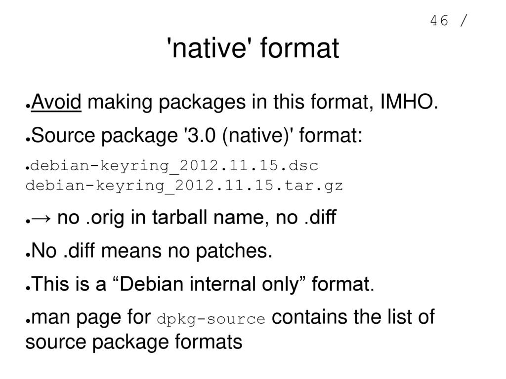 Adventures in Debian Packaging - ppt download