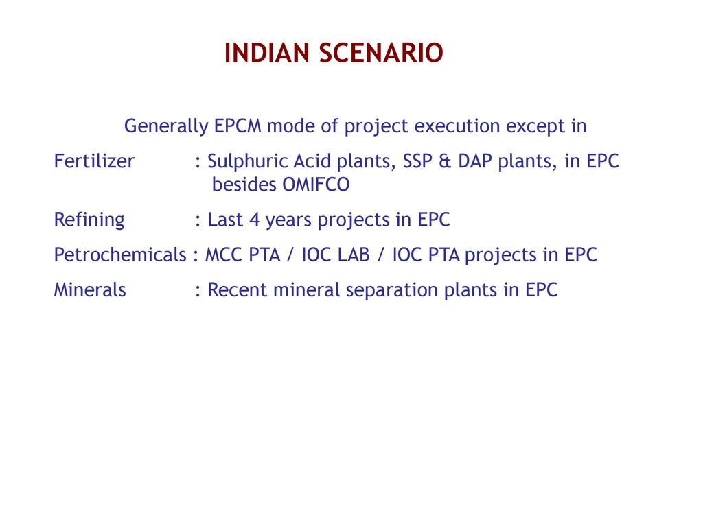 Project Execution in Process Industry - ppt download