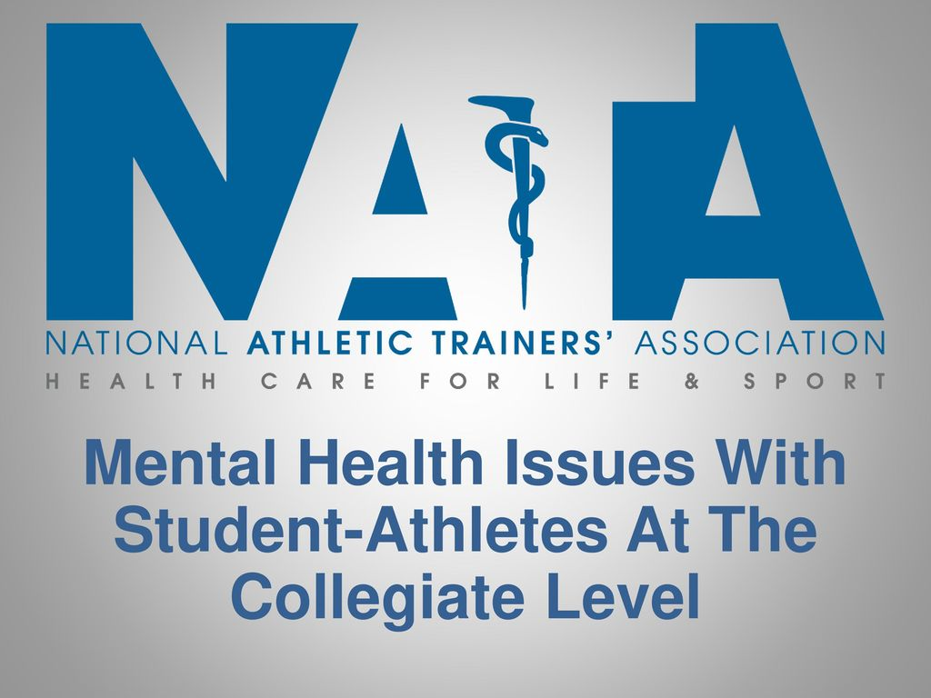 Mental Health Issues With Student Athletes At The Collegiate Level