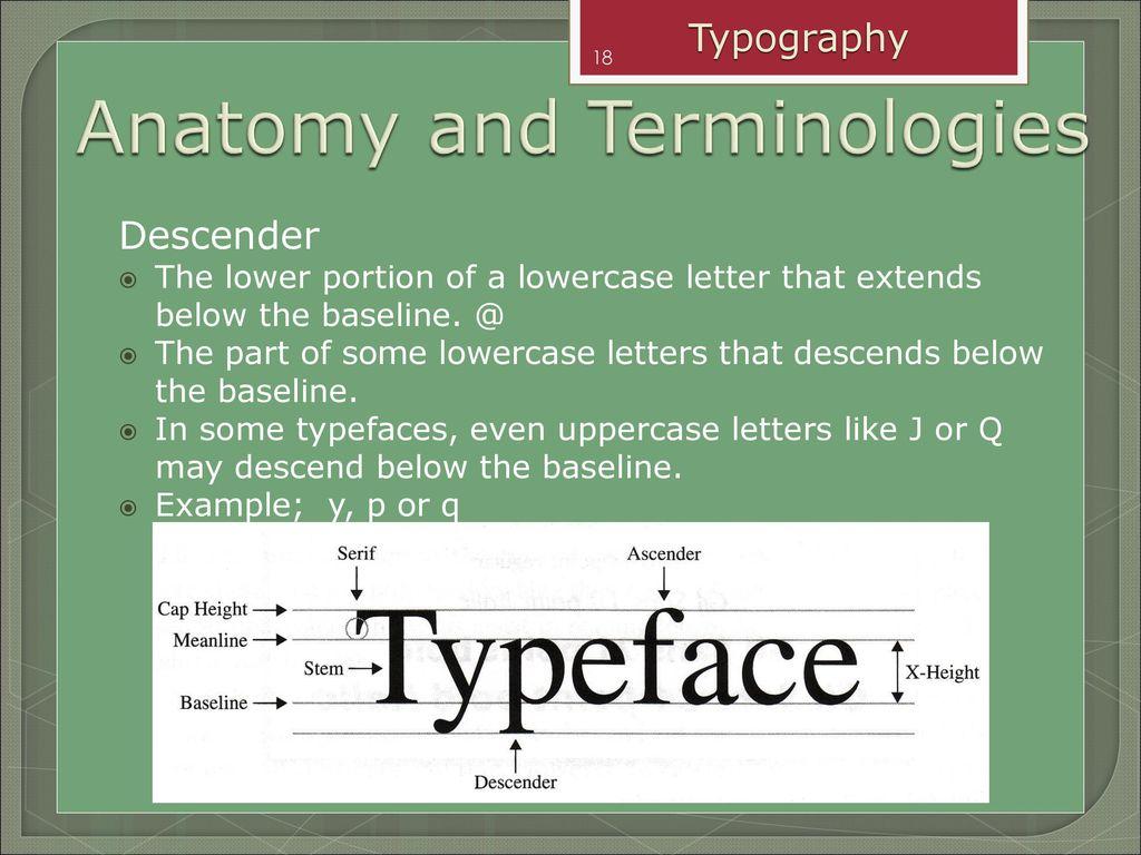 TMD1073 Digital Illustration Chapter 3 : Typography - ppt download