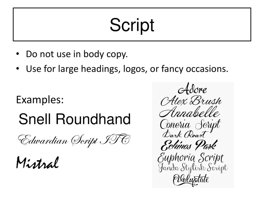 Typography  - ppt download
