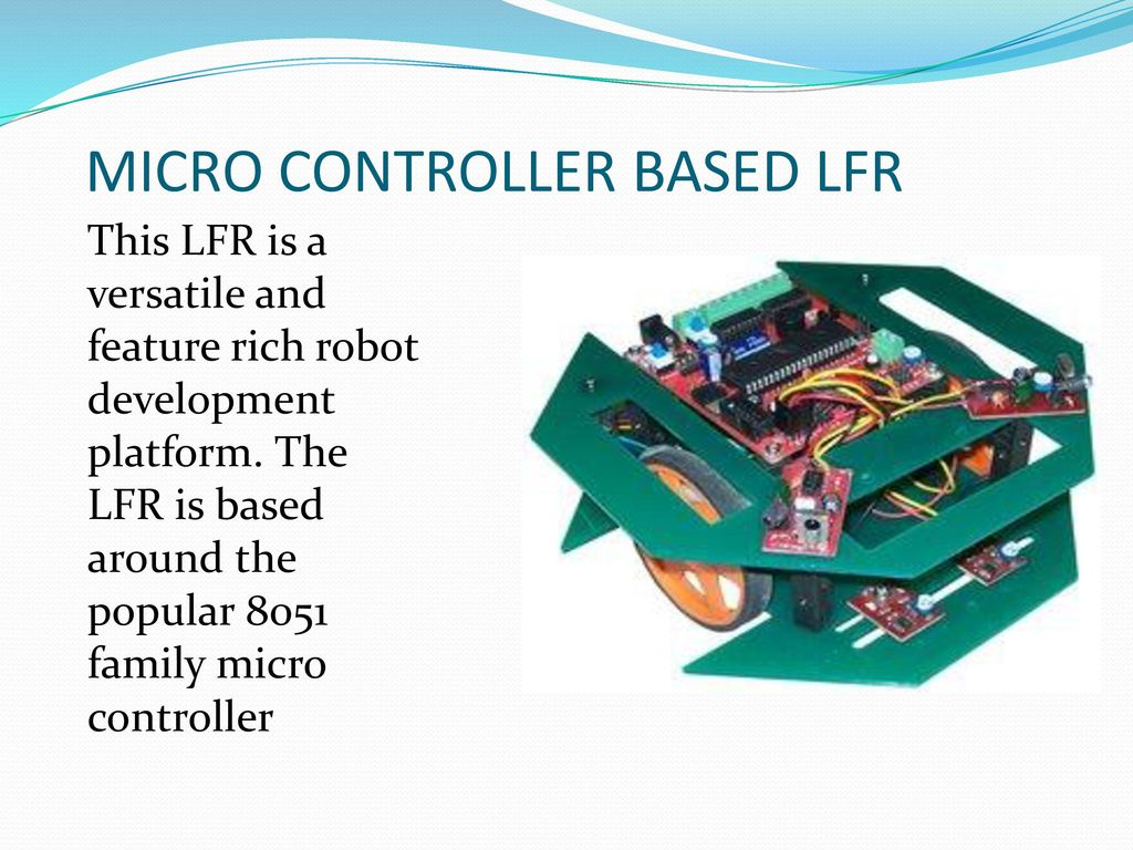 Presentation On Line Follower Robot Ppt Download 2 Transistor Types Of Lfr Analog The Is Inexpensive