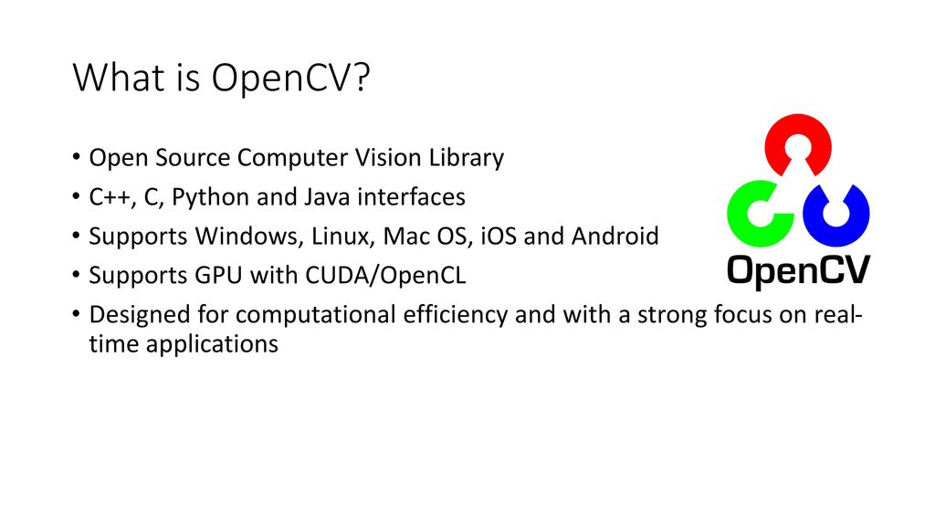 OpenCV for Android Ke Wang  - ppt download