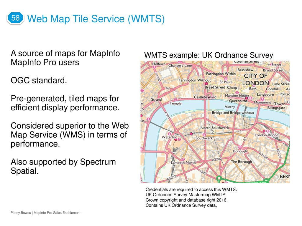 64 bits of mapinfo pro and the next big thing ppt download web map tile service wmts freerunsca Image collections