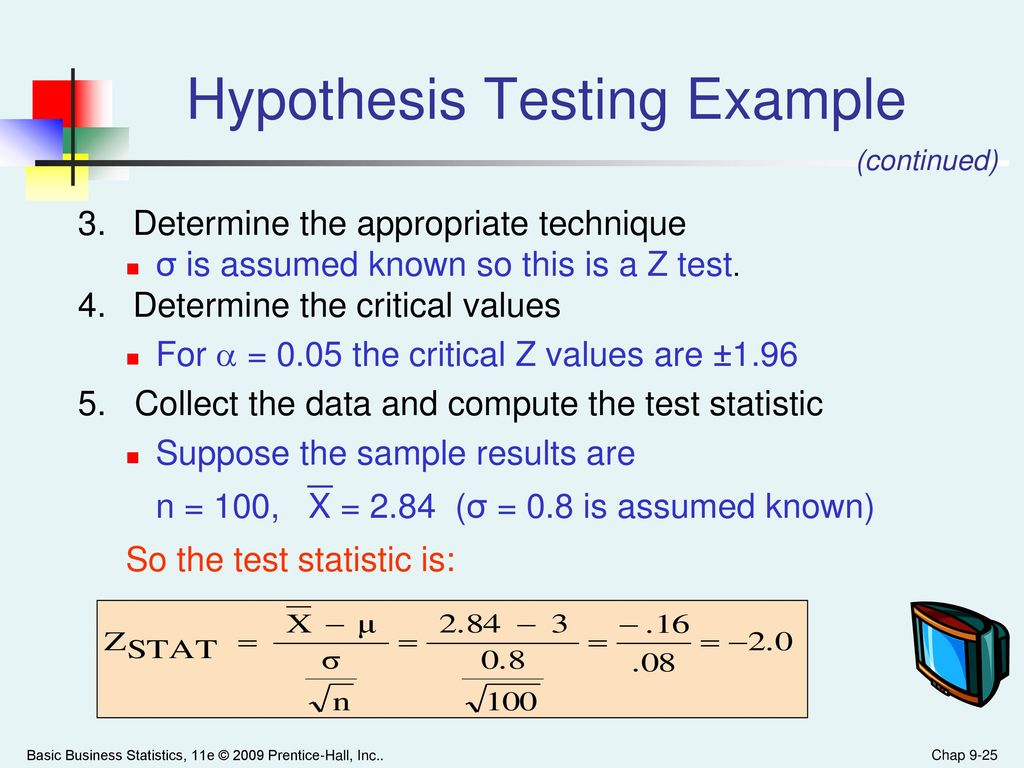 Fictive example of hypotheses testing on the business model canvas.