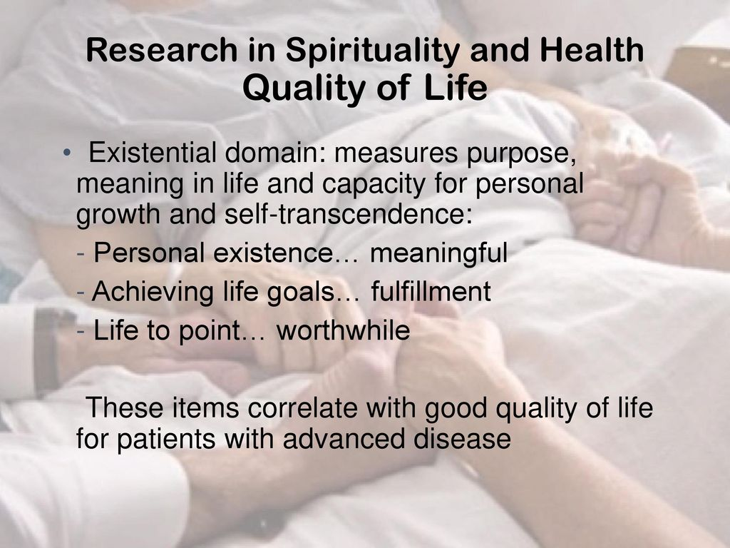 Role of Spirituality in Health Care - ppt download