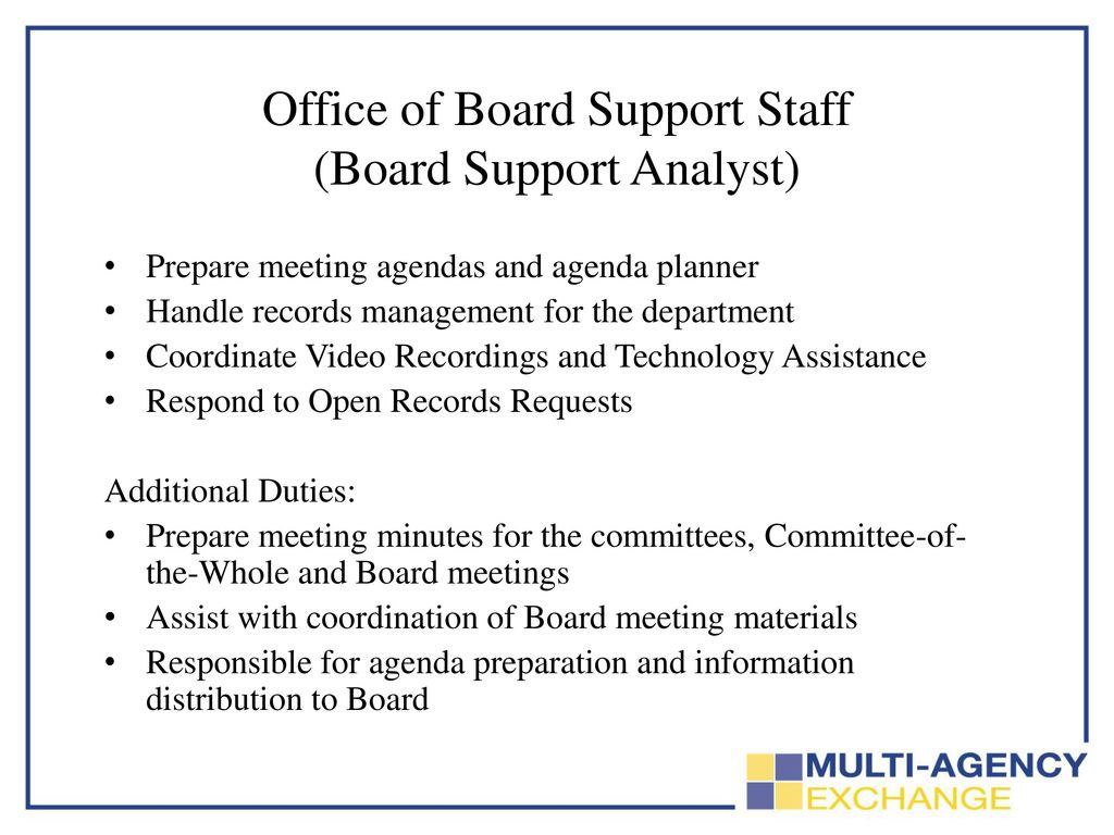 DART BOARD OF DIRECTORS The Office of Board Support - ppt