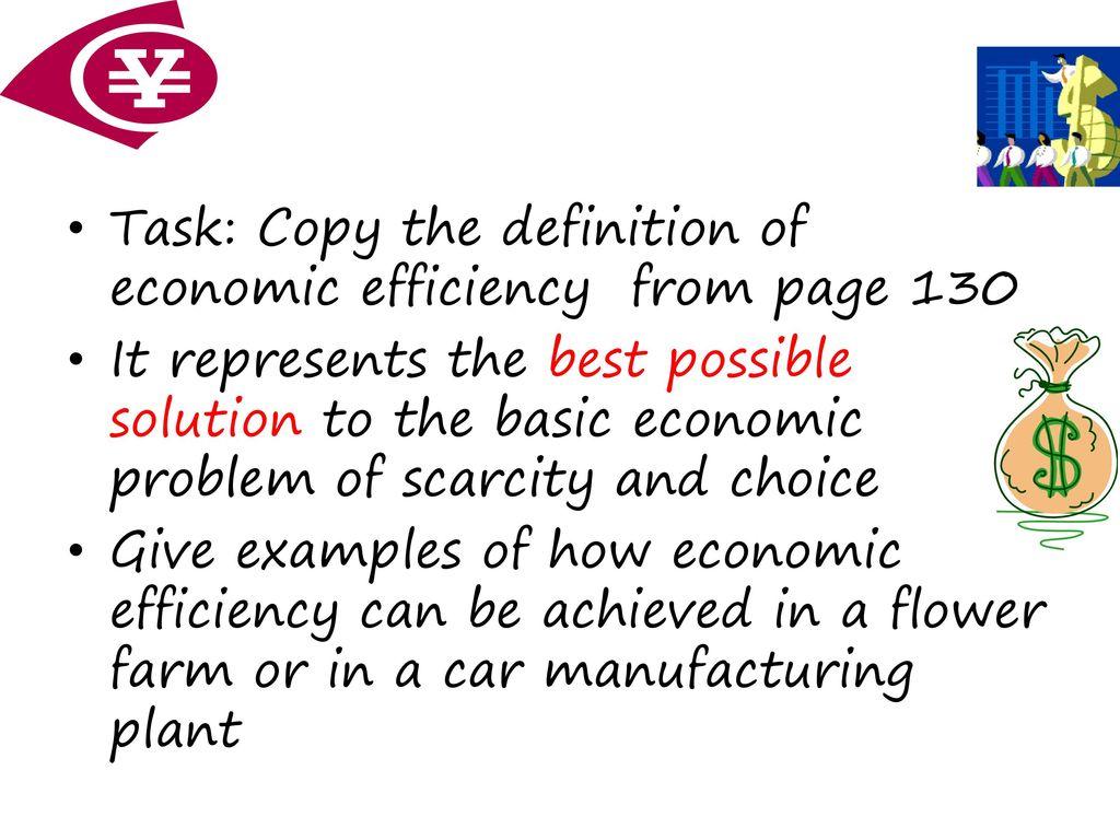 solution of basic economic problem