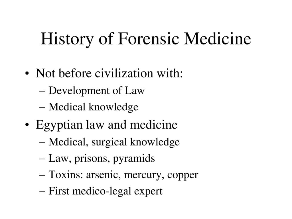 Forensic Medicine Introduction Ppt Download