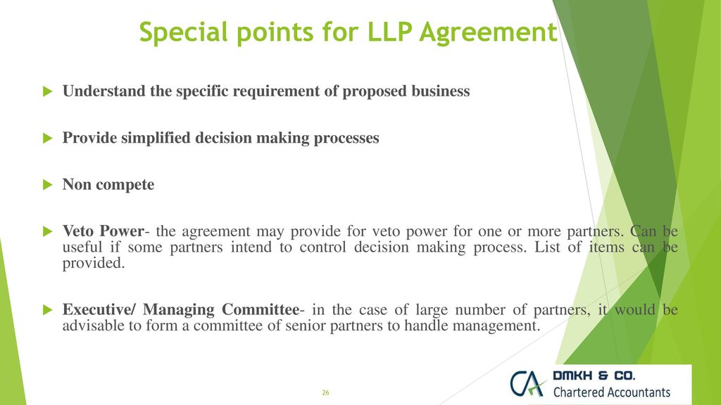 Formation Conversion Changes In Limited Liability Partnership