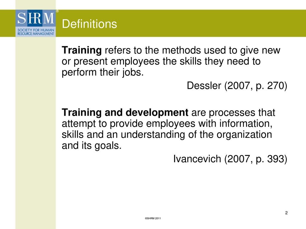 human resource management training and development case study